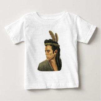 Camiseta del niño del retrato del guerrero del camisas