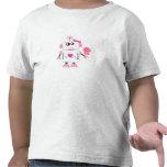 Camiseta del niño del robot