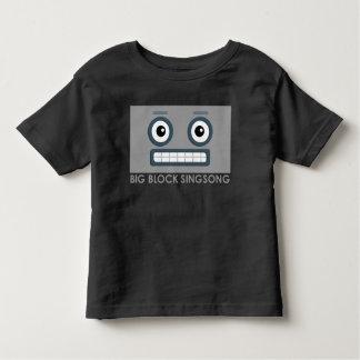 Camiseta del niño del robot de BBSS