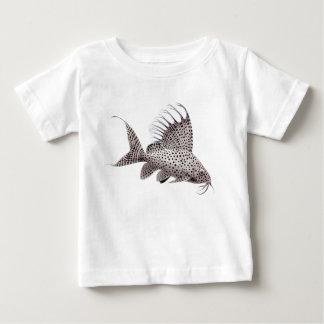Camiseta del niño del siluro de Synodontis Polera