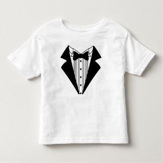 Camiseta del niño del smoking