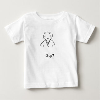 Camiseta del niño del sorbo del hombre del remeras
