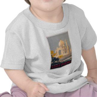 Camiseta del niño del Taj Mahal