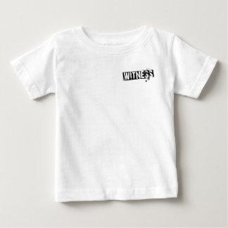 Camiseta del niño del TESTIGO Playeras