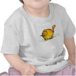 Camiseta del niño del tigre