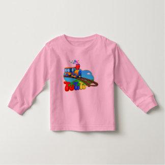 Camiseta del niño del tren de TuTiTu Playera