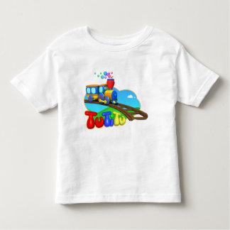 Camiseta del niño del tren de TuTiTu Remera