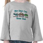 Camiseta del niño del Triathlon del papá