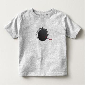 Camiseta del niño del volumen máximo