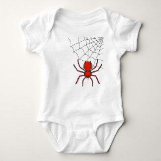 Camiseta del niño del Web de araña del reino de Camisas
