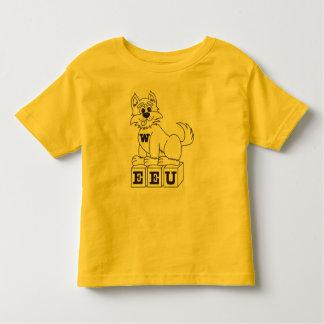Camiseta del niño EEU Playeras