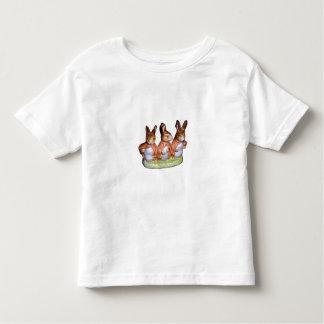 Camiseta del niño - Flopsy, Mopsy y conejo de rabo Camisas