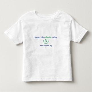 Camiseta del niño - mantenga la sonrisa viva remera