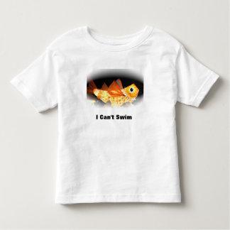 """Camiseta del niño """"que no puedo nadar """""""