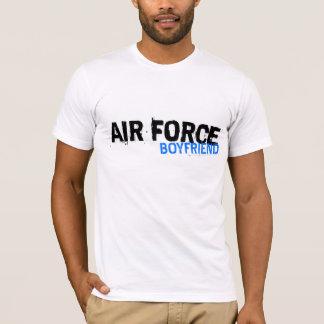 Camiseta del novio de la fuerza aérea