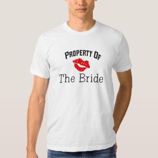 Camiseta del novio playera