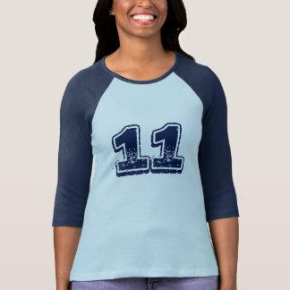 Camiseta del número 11 playeras
