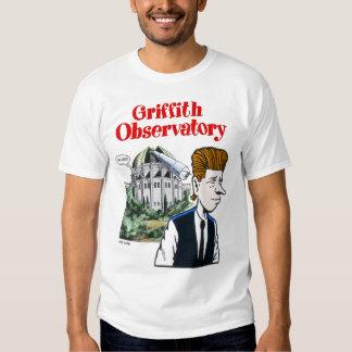 Camiseta del observatorio de Griffith Remeras