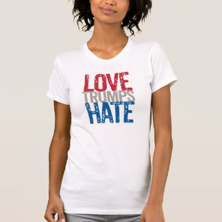 Camiseta del odio de los triunfos del amor remeras