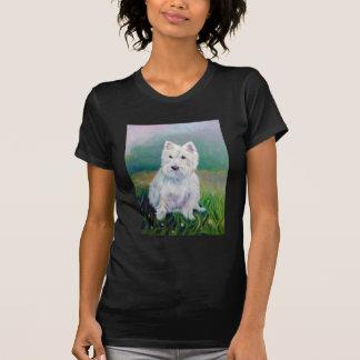 Camiseta del oeste de Terrier de la montaña