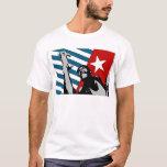 Camiseta del oeste libre del arte de Papua