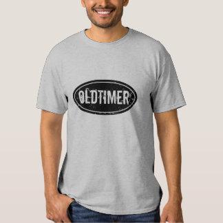 Camiseta del oldtimer del vintage para los hombres playera