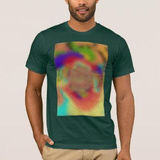 Camiseta del orbe que sonda