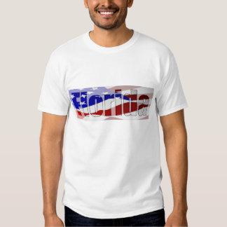 Camiseta del orgullo de la Florida Playera