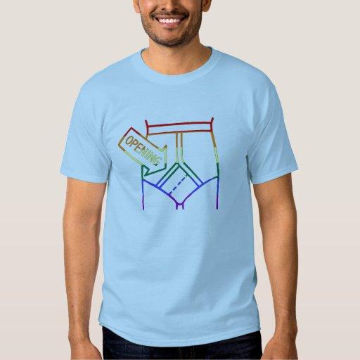 camiseta del orgullo de las prendas íntimas GLBT Playeras