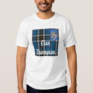 Camiseta del orgullo de Thompson del clan Polera