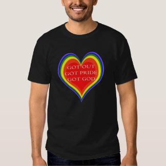 Camiseta del orgullo gay camisas