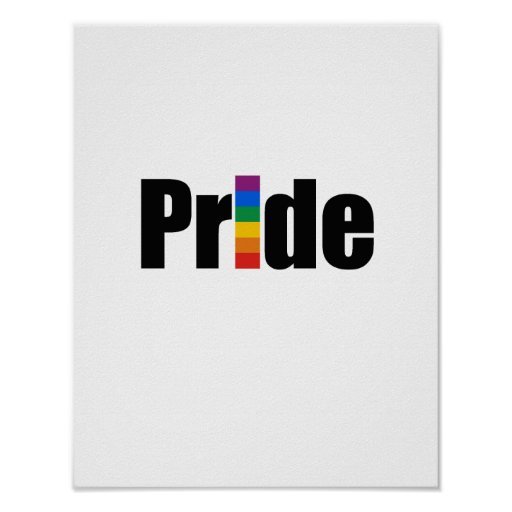 Camiseta del orgullo gay posters