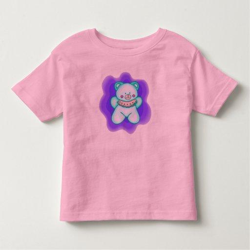 Camiseta del oso de peluche de los niños