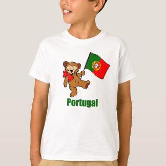 Camiseta del oso de peluche de Portugal