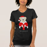 Camiseta del oso de Santa