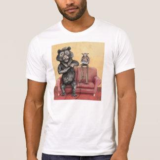 Camiseta del oso y del armadillo