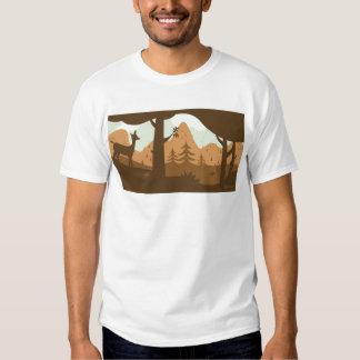 Camiseta del otoño poleras