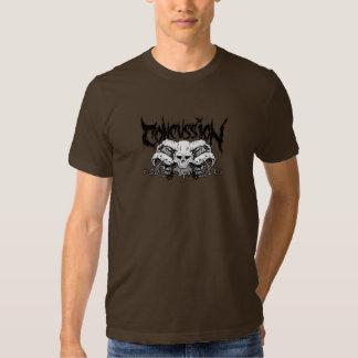 Camiseta del Overlord de la conmoción cerebral Playeras