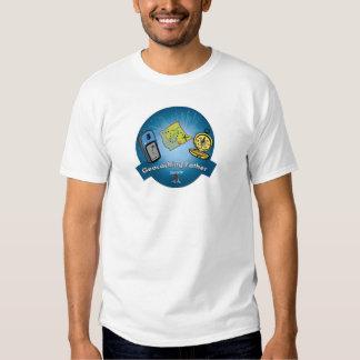 Camiseta del padre de Geocaching Camisas