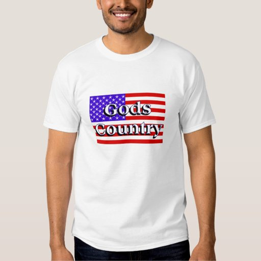 Camiseta del país de dioses remera