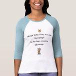 Camiseta del país de las maravillas del invierno