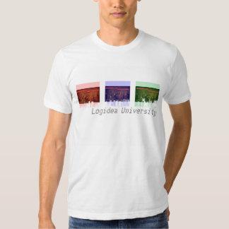 Camiseta del paisaje urbano RBG 2 de la
