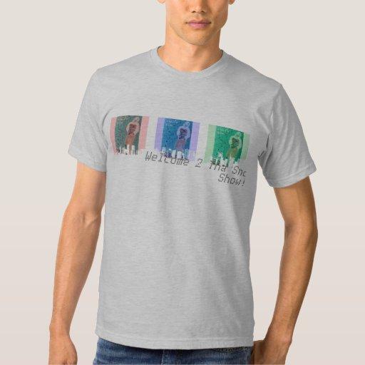 Camiseta del paisaje urbano RBG 2 - modificada Playeras