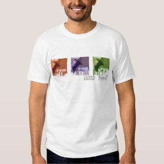 Camiseta del paisaje urbano RBG 2 Polera