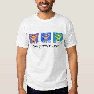 Camiseta del paisaje urbano RBG 2 Poleras
