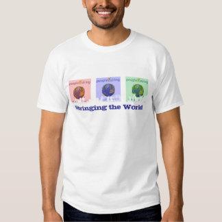 Camiseta del paisaje urbano RBG 2 Remera