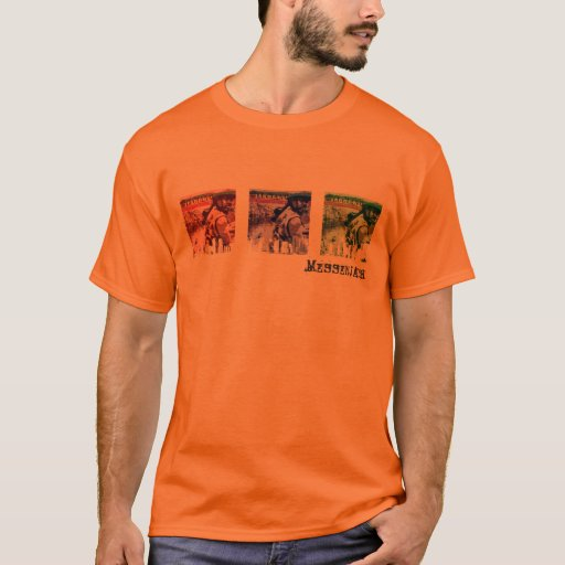 Camiseta del paisaje urbano RBG 3 de Luciano JMN
