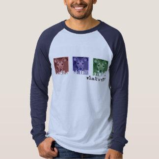 Camiseta del paisaje urbano RBG 3 Playera