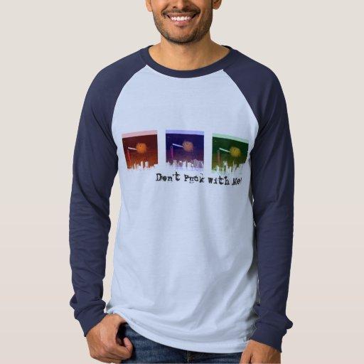Camiseta del paisaje urbano RBG 3 Polera