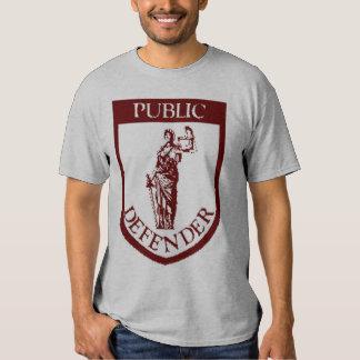 Camiseta del paladio - rojo oscuro en gris poleras